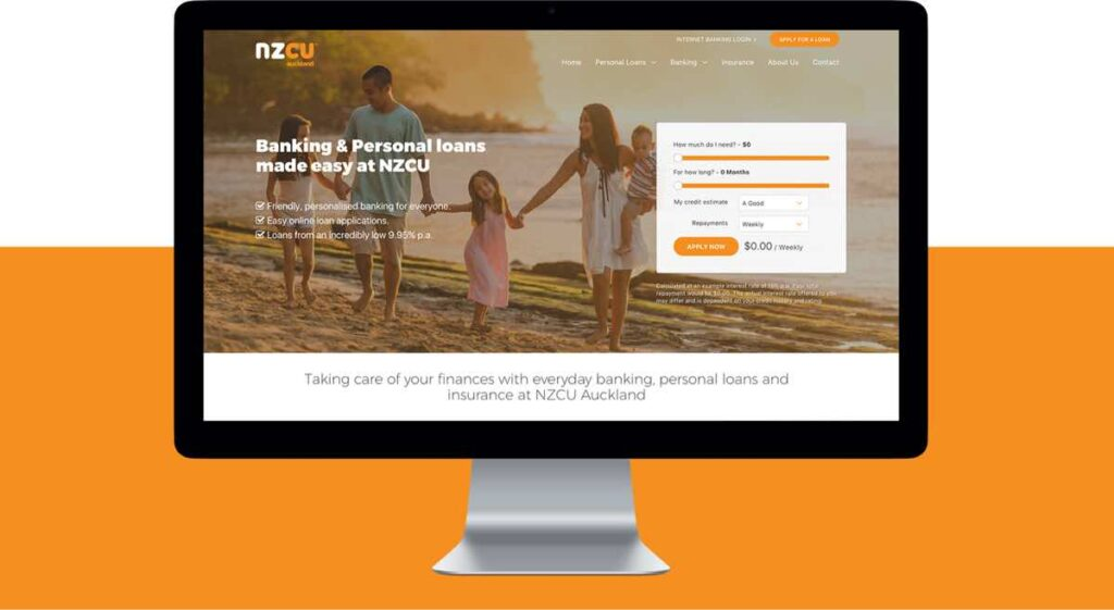 NZCU Auckland Website Development by Engage Digital