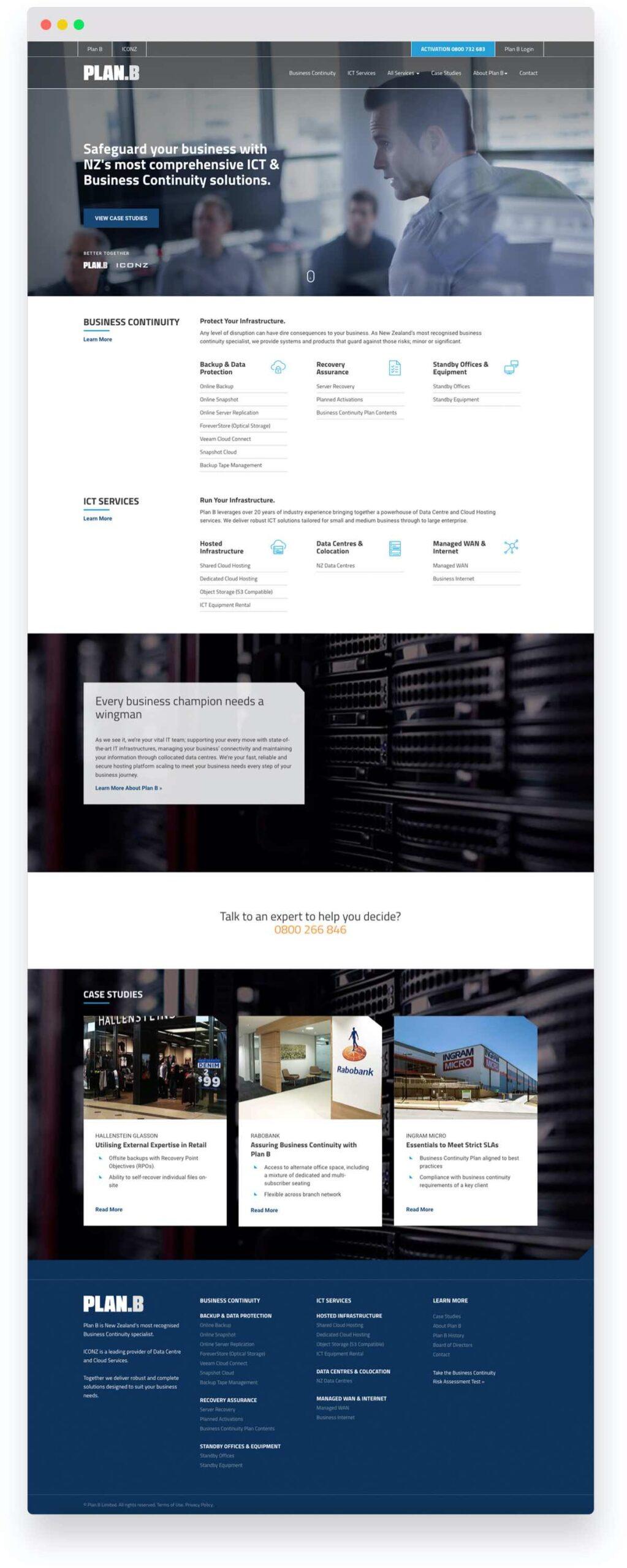 Plan B B2B Website Marketing