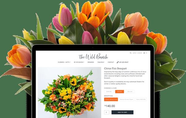 Flower Delivery Ecommerce Website Development
