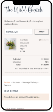 The Wild Bunch Mobile Ecommerce Website