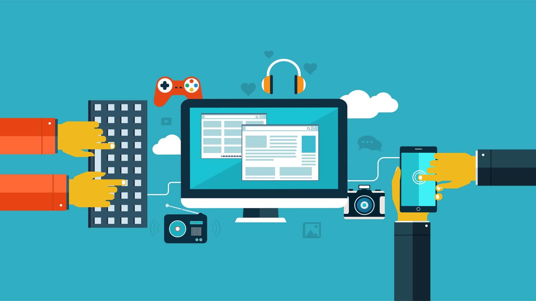 Gamification in web design